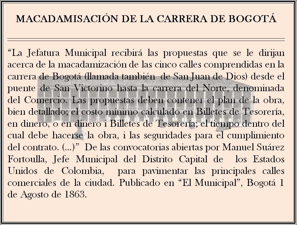 ARCHIVO DE BOGOTA