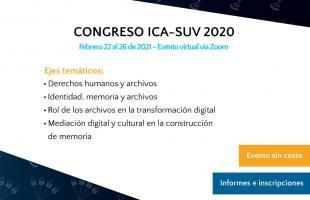 Congreso virtual ICA-SUV2020