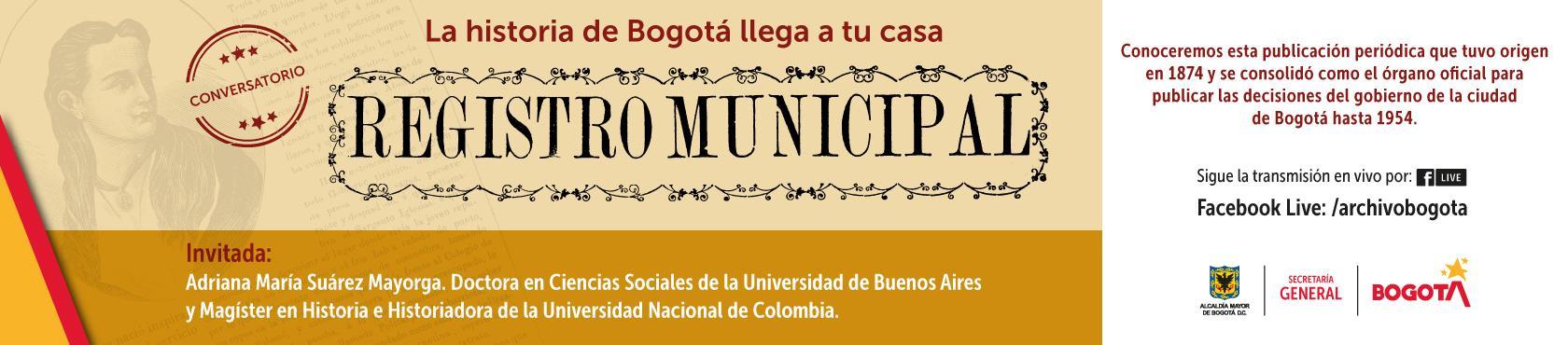 La historia de Bogotá llega a tu casa