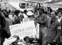 Manifestaciones años 70
